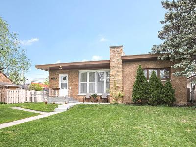 Blue Island Single Family Home For Sale: 12035 Artesian Avenue