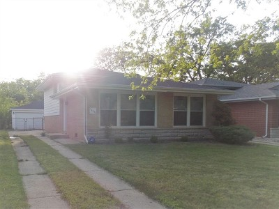 Dolton  Single Family Home For Sale: 14420 Sanderson Avenue