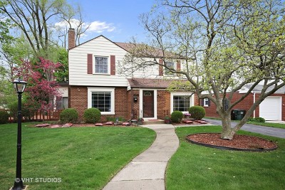 Flossmoor Single Family Home For Sale: 2035 Cummings Lane