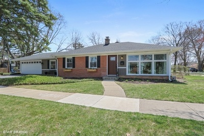 Mount Prospect Single Family Home Price Change: 301 South Edward Street