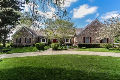 Kane County Single Family Home For Sale: 5n884 Dunham Trails Road