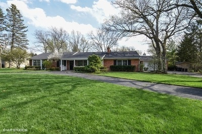 Lake Forest Single Family Home For Sale: 1555 Bowling Green Drive