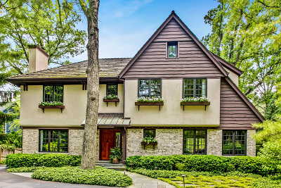 Lake Forest Single Family Home For Sale: 934 Waveland Road