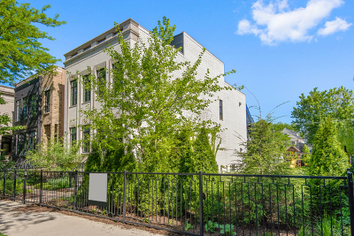 Single Family Home For Sale: 1514-18 West George Street