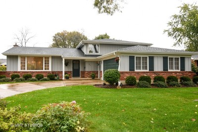 Palatine Single Family Home For Sale: 915 North Hedgewood Drive
