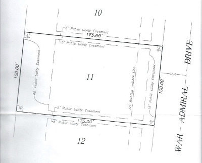 Genoa Residential Lots & Land For Sale: 1207 War Admiral Drive