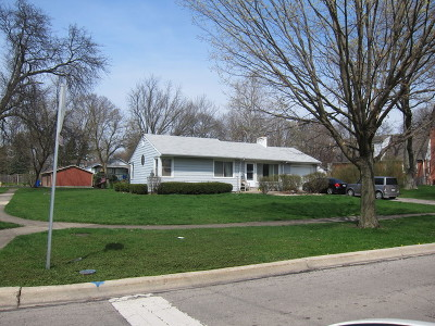 Wheaton Single Family Home For Sale: 1403 East Illinois Street