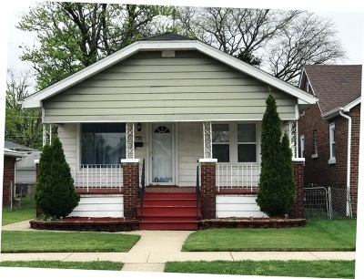 Calumet City Single Family Home For Sale: 544 Freeland Avenue