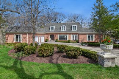Burr Ridge Single Family Home For Sale: 15 Woodgate Drive