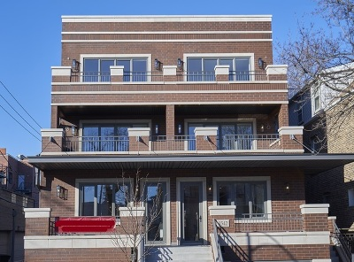 Condo/Townhouse For Sale: 1542 West Wolfram Street #1E