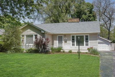 Wheaton Single Family Home For Sale: 225 West Park Avenue