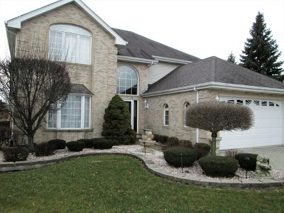 Palos Heights, Palos Hills Single Family Home For Sale: 9723 South Kingsbury Court