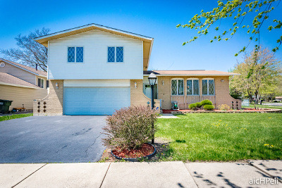 Richton Park Single Family Home Contingent: 22630 Imperial Court