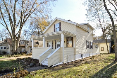 Glen Ellyn Single Family Home For Sale: 333 Duane Street