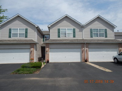 Lockport Condo/Townhouse For Sale: 16823 South Sunset Ridge Court