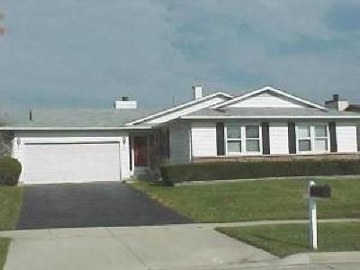 Hoffman Estates Single Family Home For Sale: 1720 West Parkside Drive
