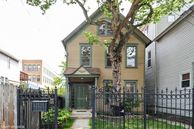 Wicker Park, Bucktown Single Family Home For Sale: 1225 North Marion Court