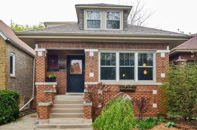Single Family Home For Sale: 5830 North Washtenaw Avenue