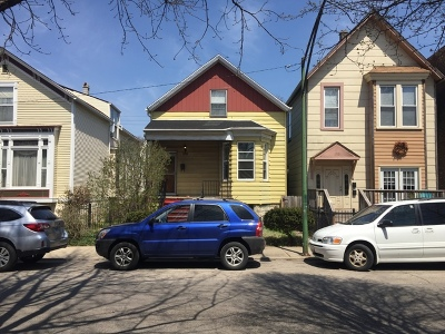 Single Family Home For Sale: 1712 West Henderson Street