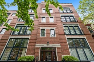 Chicago Condo/Townhouse New: 844 West Roscoe Street #1E