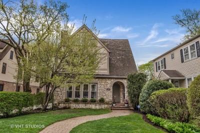 Winnetka Single Family Home For Sale: 244 Woodlawn Avenue