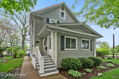 Hinsdale Single Family Home For Sale: 121 South Monroe Street