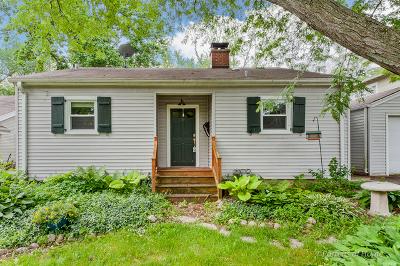 Glen Ellyn Single Family Home For Sale: 383 Hawthorne Boulevard