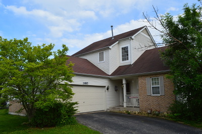 Romeoville Single Family Home New: 1485 Calendula Court