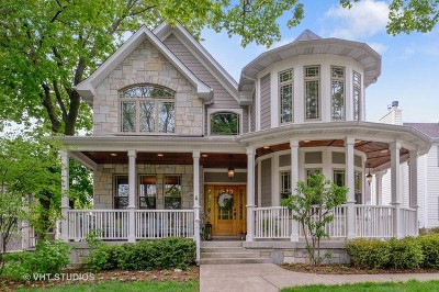Downers Grove Single Family Home Price Change: 4904 Highland Avenue