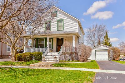 Wheaton Single Family Home For Sale: 109 West Illinois Street