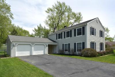 Hoffman Estates Single Family Home For Sale: 1275 Kingsdale Road