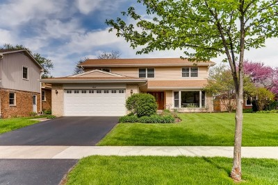 Glenview Single Family Home For Sale: 1041 Meadowlark Lane