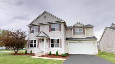 Oswego Single Family Home Price Change: 501 Cardinal Avenue