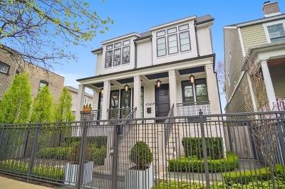 Single Family Home For Sale: 4435 North Hamilton Avenue