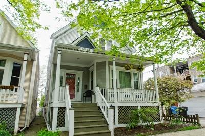 Single Family Home New: 5043 North Oakley Avenue