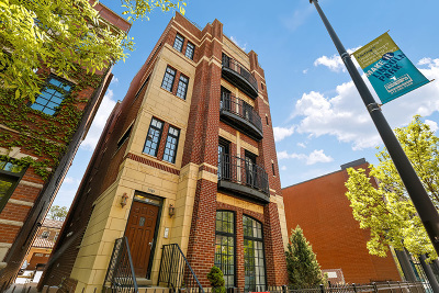 Condo/Townhouse New: 1949 North Halsted Street #3