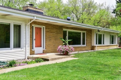 Flossmoor Single Family Home New: 1929 Vollmer Road
