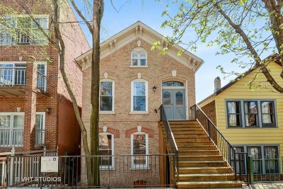 Chicago Multi Family Home New: 1733 West Pierce Avenue