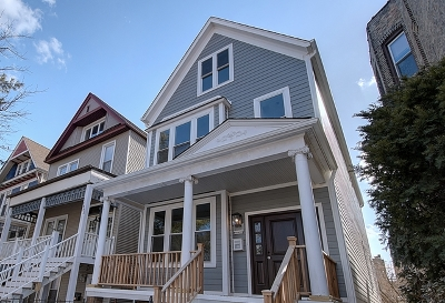 Chicago Single Family Home New: 1845 West Cuyler Avenue