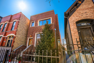Chicago Single Family Home New: 1540 North Maplewood Avenue