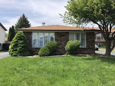 Alsip  Single Family Home For Sale: 13046 South Spencer Court