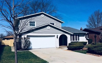Oak Forest Single Family Home New: 15412 Hickory Lane