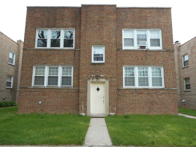 Condo/Townhouse For Sale: 6623 North Seeley Avenue #1N