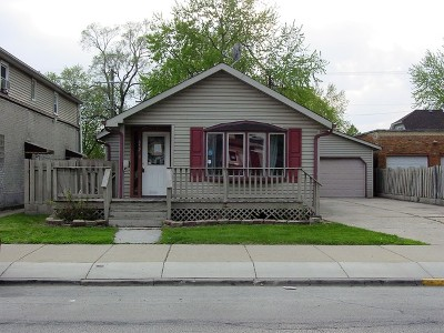 Calumet City Single Family Home New: 646 Wentworth Avenue