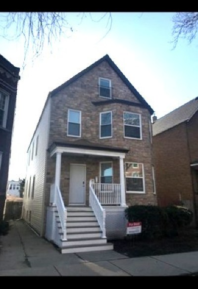 Chicago Multi Family Home New: 2339 North Avers Avenue