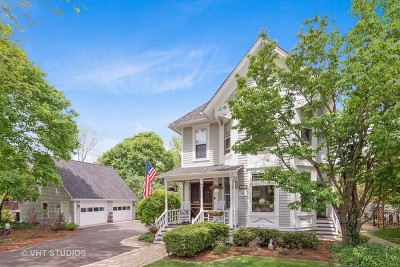 Barrington Single Family Home For Sale: 130 West Lake Street