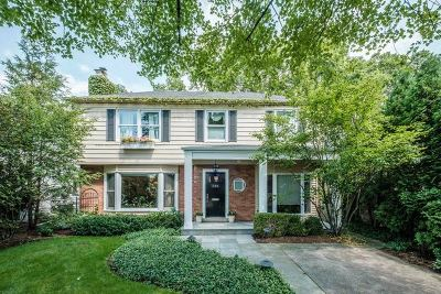 Wilmette Single Family Home For Sale: 116 Maple Avenue
