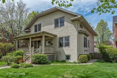 Wilmette Single Family Home For Sale: 1504 Central Avenue