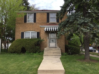 Chicago Single Family Home New: 6734 West Foster Avenue