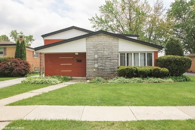 Tinley Park Single Family Home New: 7037 177th Place